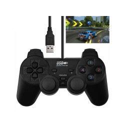 Manette jeux dual-choc pour ordinateur pc ou portable - usb