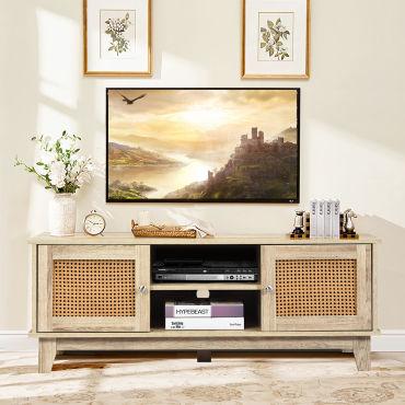 giantex armoire pour tv avec etageres
