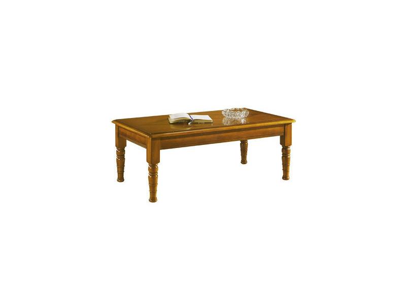 Table basse rectangulaire en chêne massif
