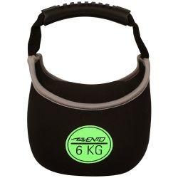 Avento kettlebell néoprène 6 kg 41kl-zwg-uni