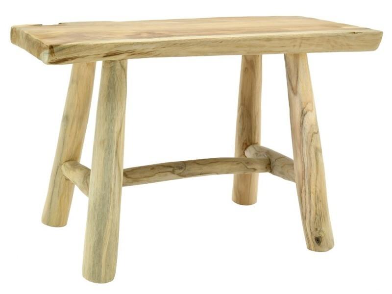 Table rectangulaire en teck massif