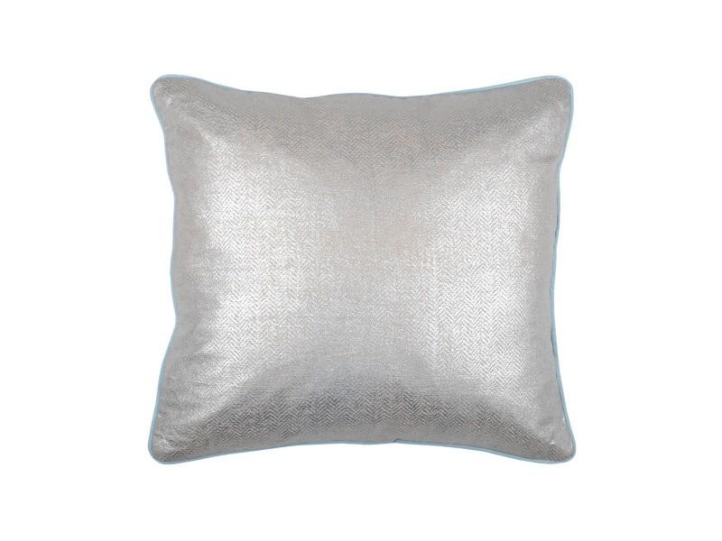 Coussin lustre gris 40x40 cm