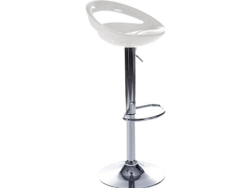 Tabouret de bar design venus BS00100WH
