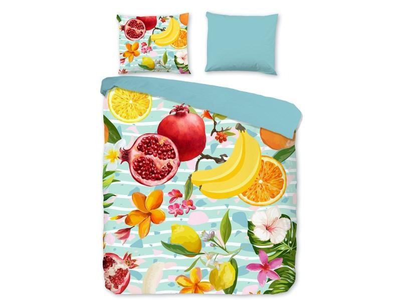 Parure de lit fruits - 140x200 cm