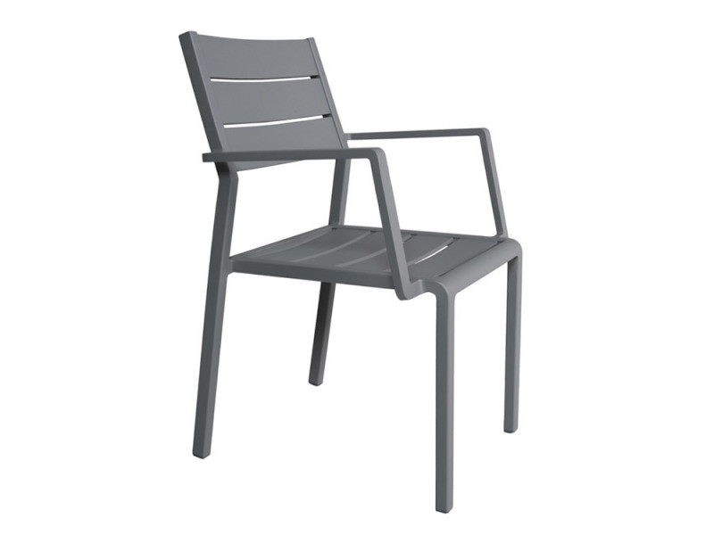 Accoudoirs Aluminium De Trenton Gris Chaise En Gecko Vente Avec BeEQrWdCxo