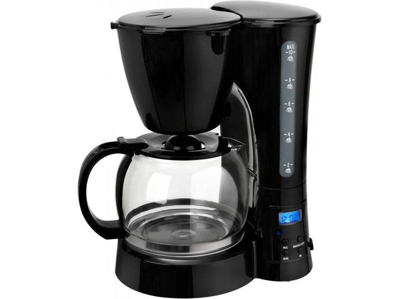 Cafetière programmable 10 tasses 800w noir - cm1017bt cm1017bt