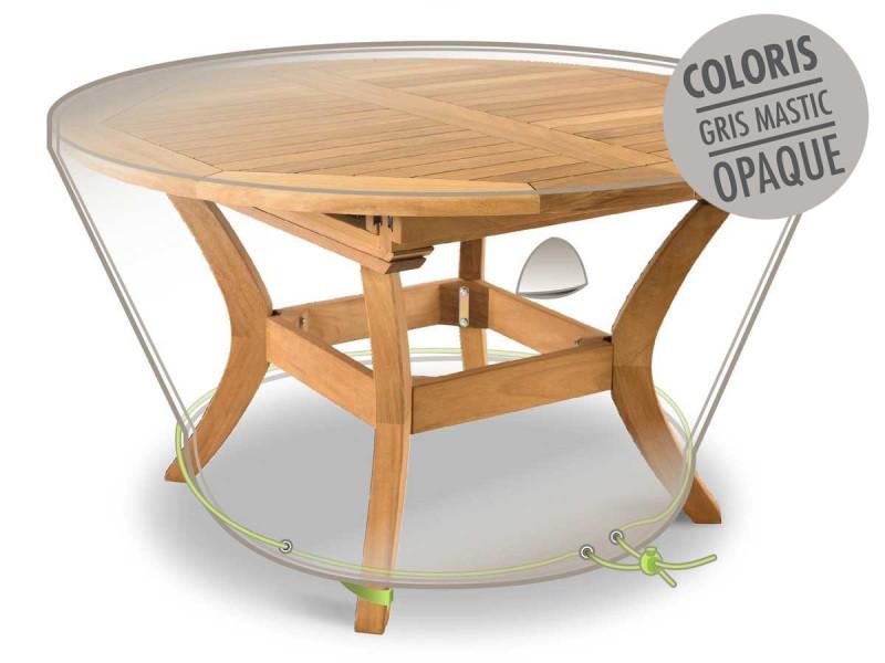Housse de protection luxe pour table ronde ø 120 x 50 cm