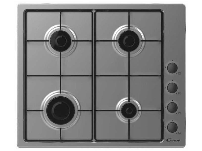 Table de cuisson à gaz 59.5cm 4 feux noir - chw6lbx chw6lbx
