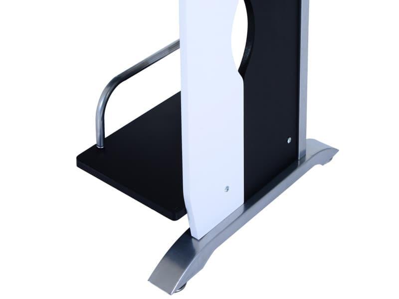 Homcom bureau informatique design en mdf 100 l x 52 i x 75h cm noir