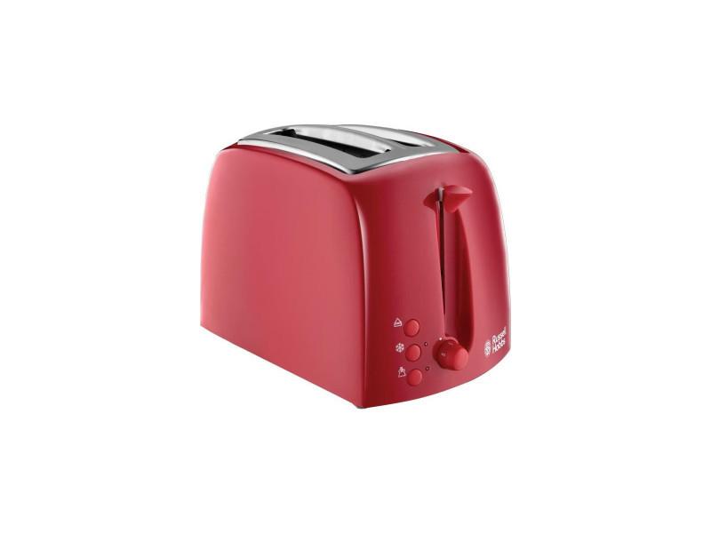 Russell hobbs 21642-56 - toaster textures - 850 w - rouge ZMAGCA829448000