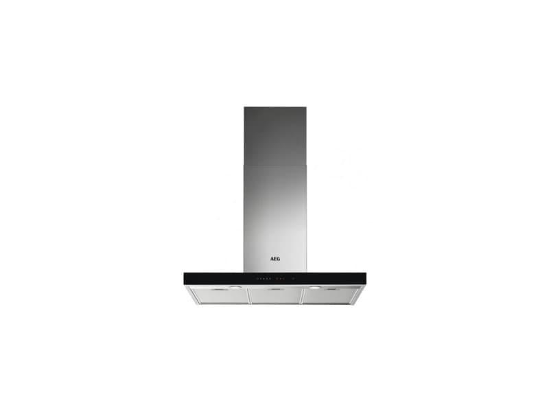 Hotte box l90 400/700m3h 3v+in t 44db inox/verre noir CDP-DBE5961HG