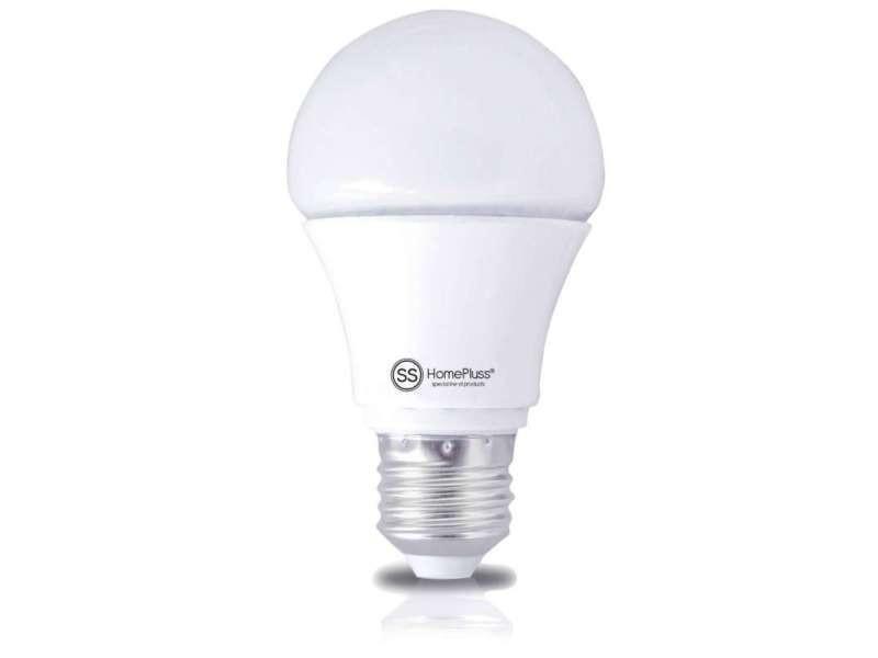 Ampoule led ronde e27 8w blanc chaud