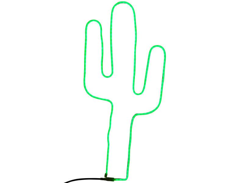 Mobilier de jardin et aménagement extérieur cactus lumineux à led pour décoration extérieure. Ce jol