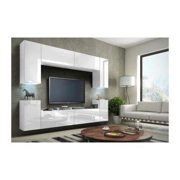 Price Factory Meuble De Salon Meuble Tv Complet Suspendu Concept