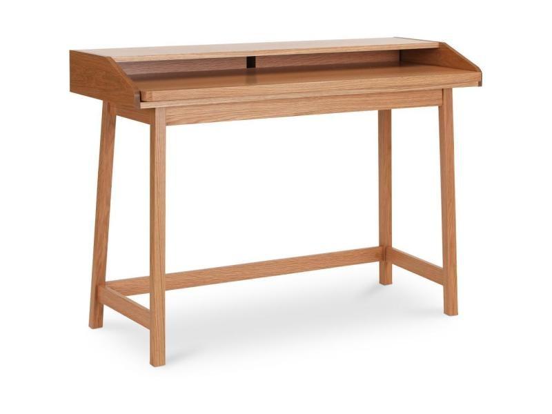 Bureau en bois style scandinave bois naturel vente de non prÉcisÉ
