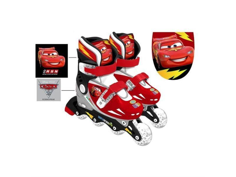 Roller in line cars roller - patins en ligne ajustables 30 - 33 - disney