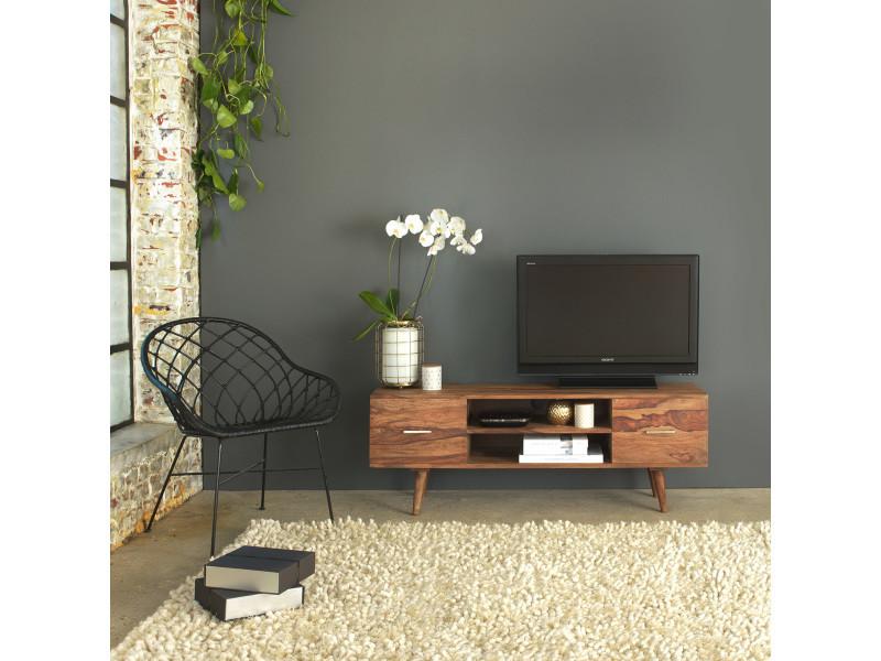 meuble tv scandinave 2 tiroirs rasevenchi vente de. Black Bedroom Furniture Sets. Home Design Ideas