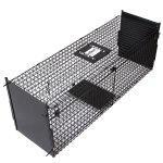 Piège cage de capture pour petits animaux 99,2x33x31 cm 3701064