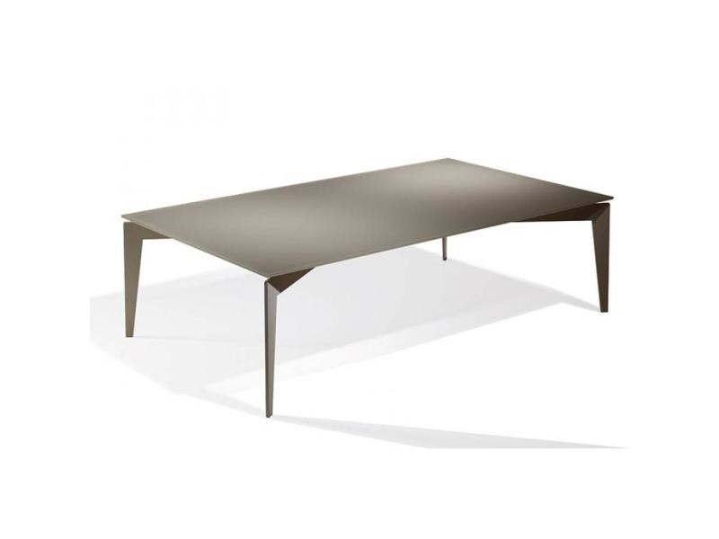Table basse rocky en verre taupe 20100847169