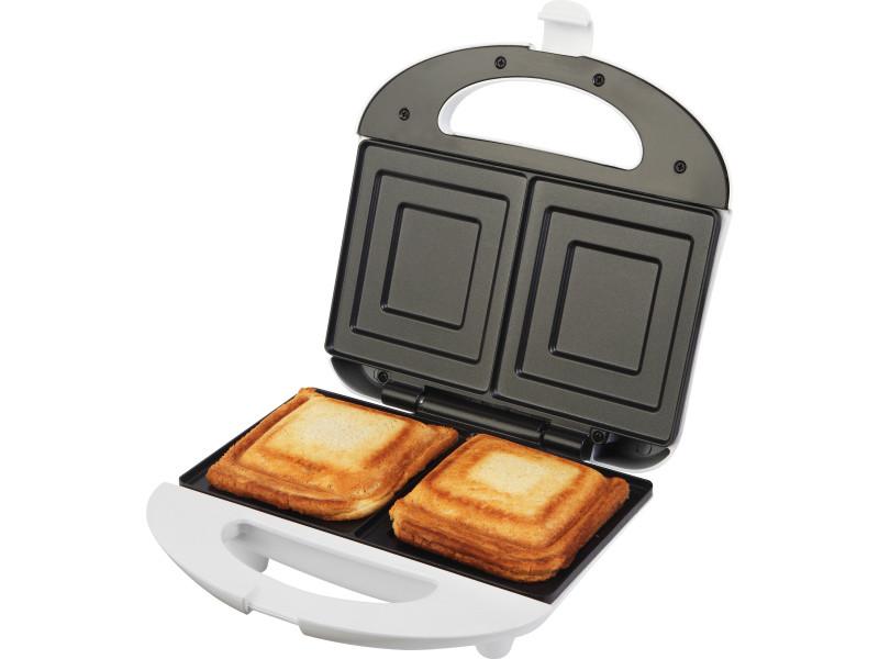 Ecg s 169 - appareil à sandwiches - anti-adhésif - 700w 8592131302945