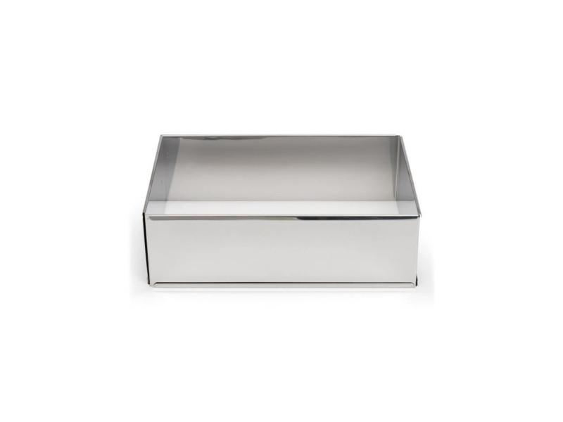 Cadre a pâtisserie extensible en inox - 7,5 cm - gris PAT8712187021663