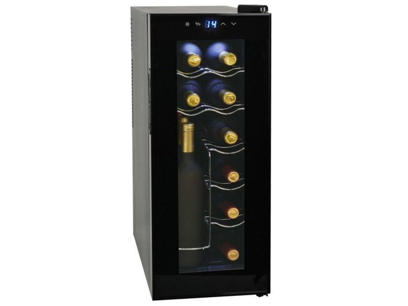 Esthetique électroménager de cuisine serie niamey frigo à vin 35 l 12 bouteilles affichage lcd
