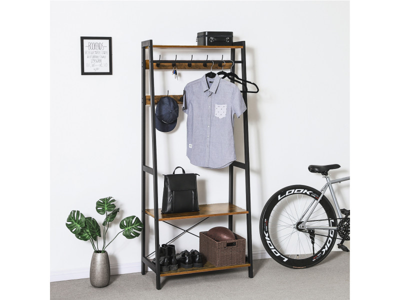 vestiaire vintage porte manteaux portant v tement. Black Bedroom Furniture Sets. Home Design Ideas