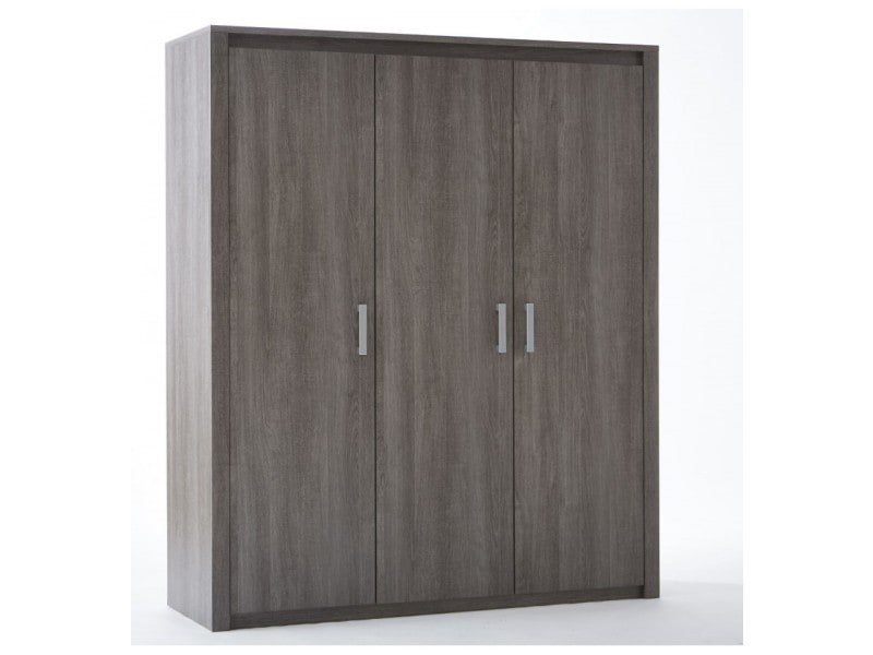 armoire 3 portes robin vente de dressing conforama. Black Bedroom Furniture Sets. Home Design Ideas