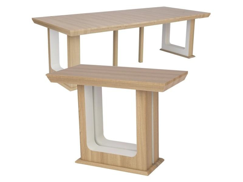 Table Houston Chêne Console Clair Vente 250cm De Extensible wOn0v8ymN