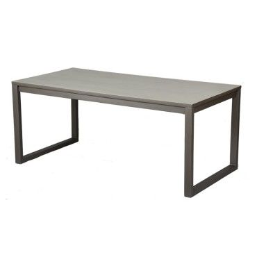 Table de repas - anthros - l 180 x l 90 x h 75 - neuf