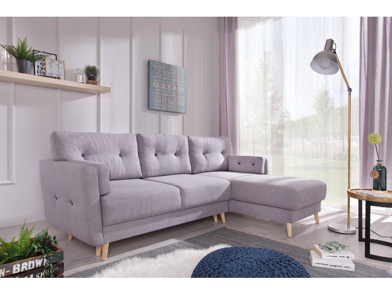 copenhagen canap d 39 angle r versible convertible avec coffre de rangement 230x153x90cm. Black Bedroom Furniture Sets. Home Design Ideas