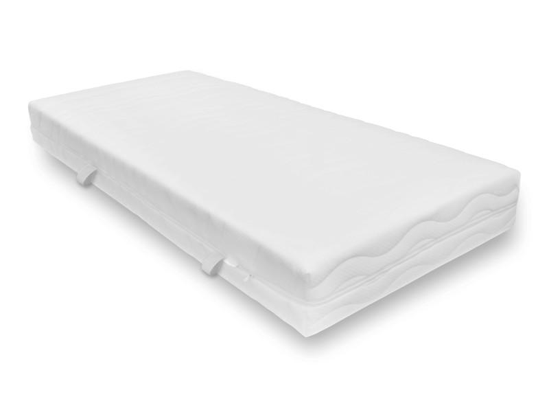 matelas confort ferme 90 x 200 cm orthop dique ressorts ensach s paisseur 21 cm conforama. Black Bedroom Furniture Sets. Home Design Ideas