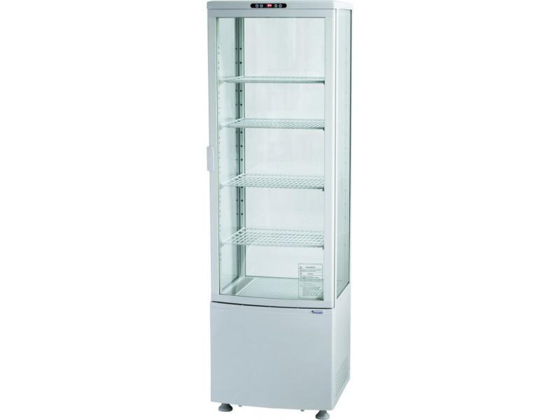 Vitrine réfrigérée 235 l - 4 étages - stalgast - r290