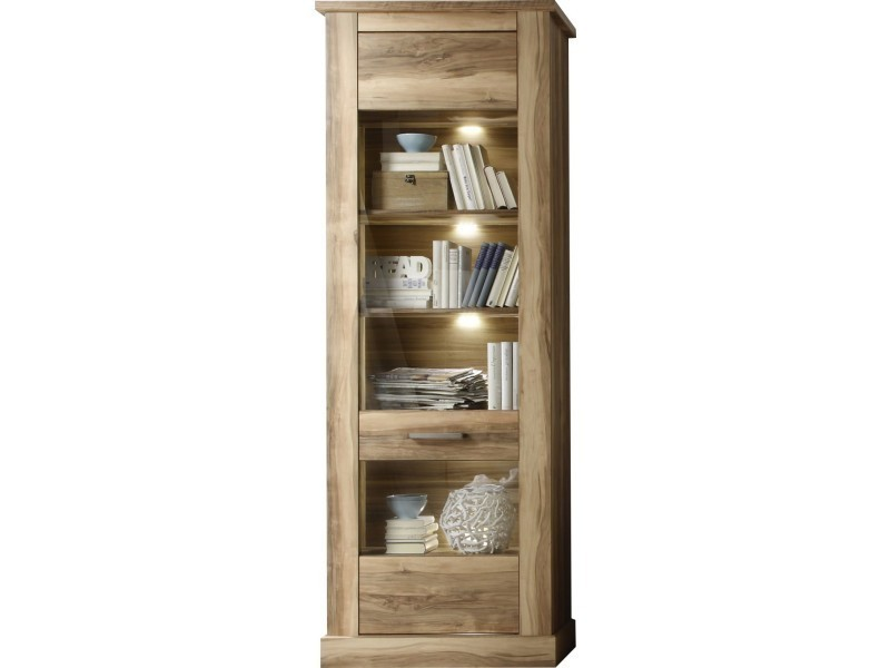meuble vitrine conforama vitrine paros iii vente de bibliothque et vitrine conforama pour. Black Bedroom Furniture Sets. Home Design Ideas
