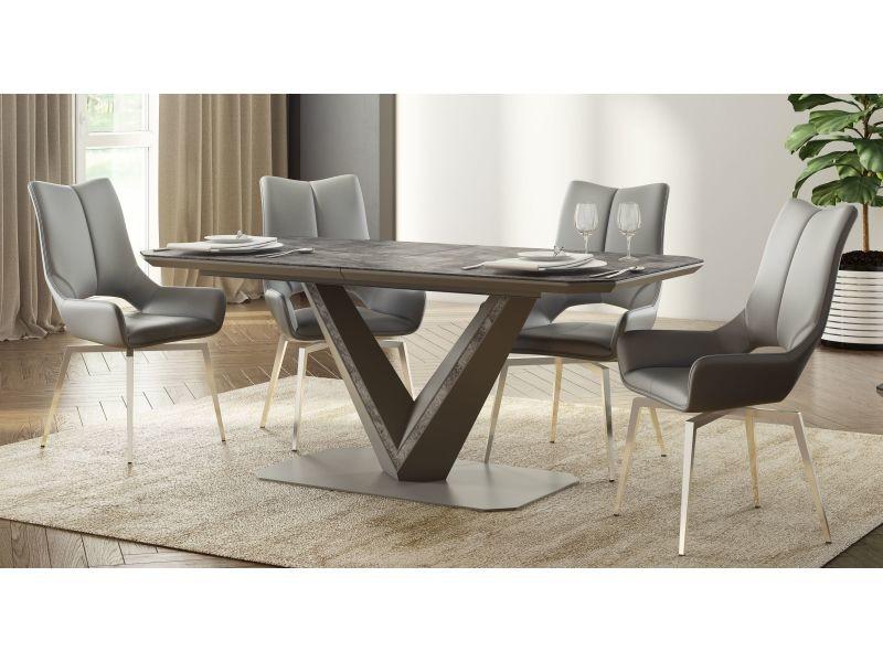 Table à manger extensible rectangulaire 180 ÷ 220 cm x 90 cm x 75 cm