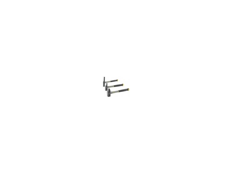 Marteaux manche fibre de verre type menuisierdimensions tête 20 mmpoids 160 g HEX-304935-160