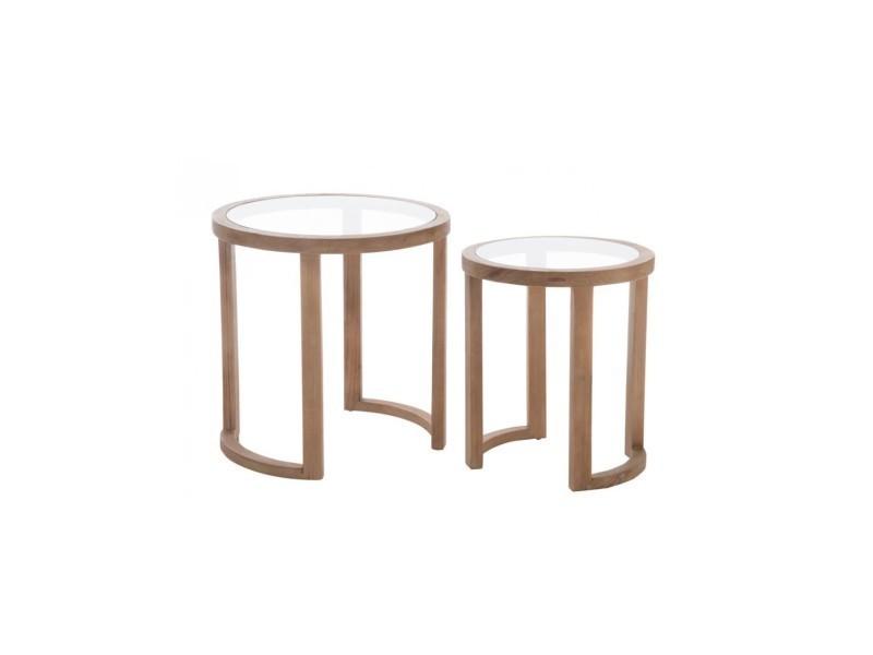 Table gigogne - 1 pièce modele l A67302