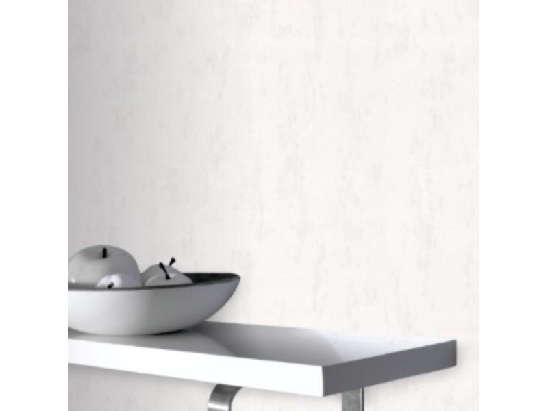 Papier peint intissé granol grainé 1005 x 52cm blanc 5357951