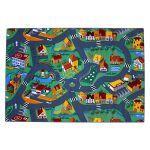 Tapis circuit little village -tapis : 140 x 200 cm