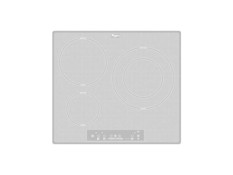 Whirlpool acm 680/ne/wh plaque blanc intégré (placement) plaque avec zone à induction 3 zone(s) WHIACM680NEWH