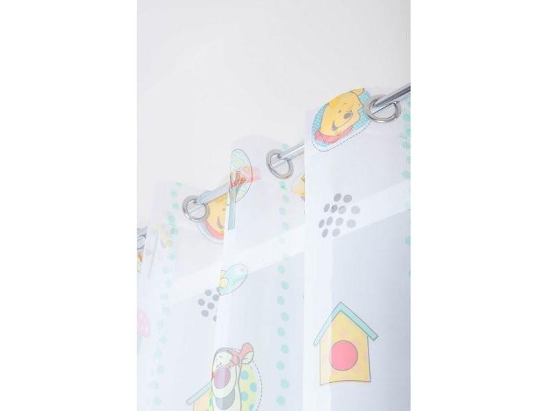 Voilage Chambre Enfant 145 X 245 Cm à Oeillets Winnie L