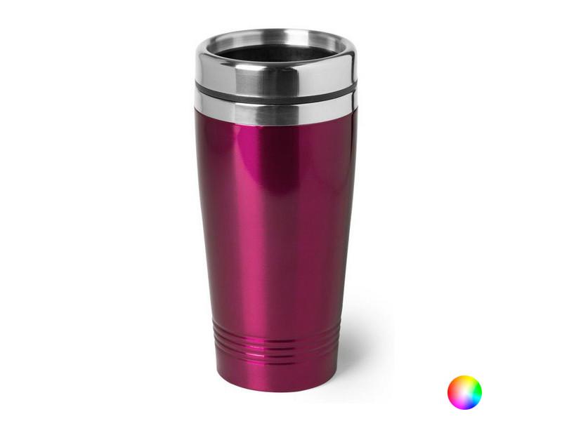 Verres et carafes moderne couleur fuchsia verre en acier inoxydable 146403 (450 ml)
