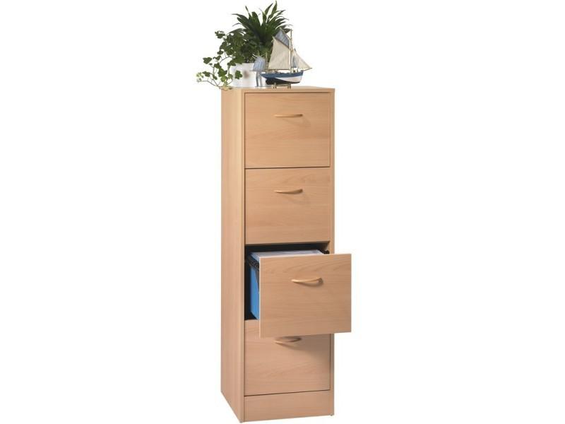 classeur dossiers suspendus 4 tiroirs h tre tirsus l 42 x l 44 x h 141 neuf vente de. Black Bedroom Furniture Sets. Home Design Ideas