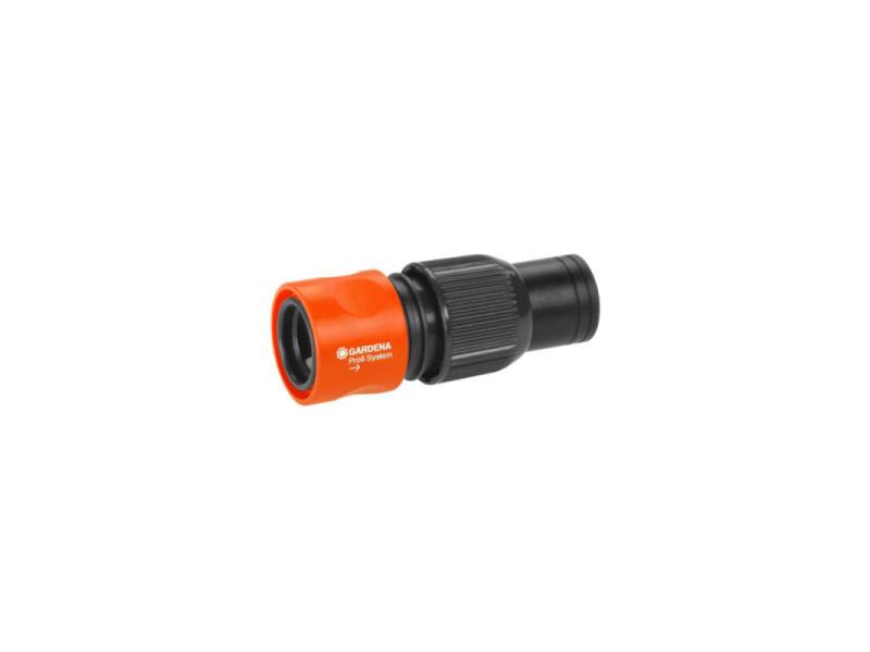 Gardena - raccord de tuyau d'arrosage grand débit profi 19 mm 2817-20