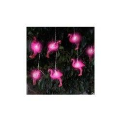 Guirlande led flamants
