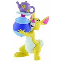 Winnie l´ourson figurine coco lapin avec vaisselle 8 cm