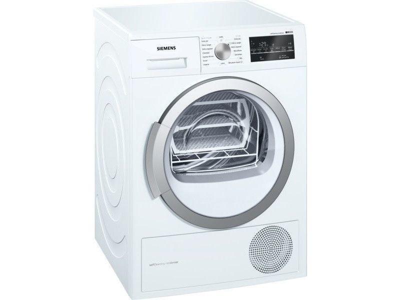 Sèche-linge frontal à pompe à chaleur 60cm 9kg a++ blanc - wt47w491ff wt47w491ff