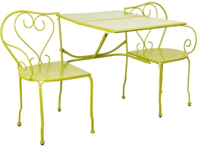 Banc De Jardin Convertible En Table Chaises Classique Vente De