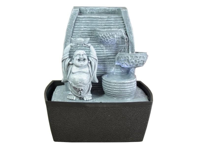 Fontaine d'intérieur feng shui bouddha rieur senza himo