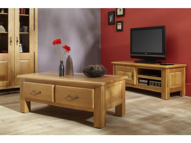 meuble tv bas mansart coloris ch ne clair vente de hellin conforama. Black Bedroom Furniture Sets. Home Design Ideas